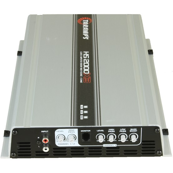 Módulo Amplificador Digital Taramps HS-2000X3 - 3 Canais - 2400 Watts RMS