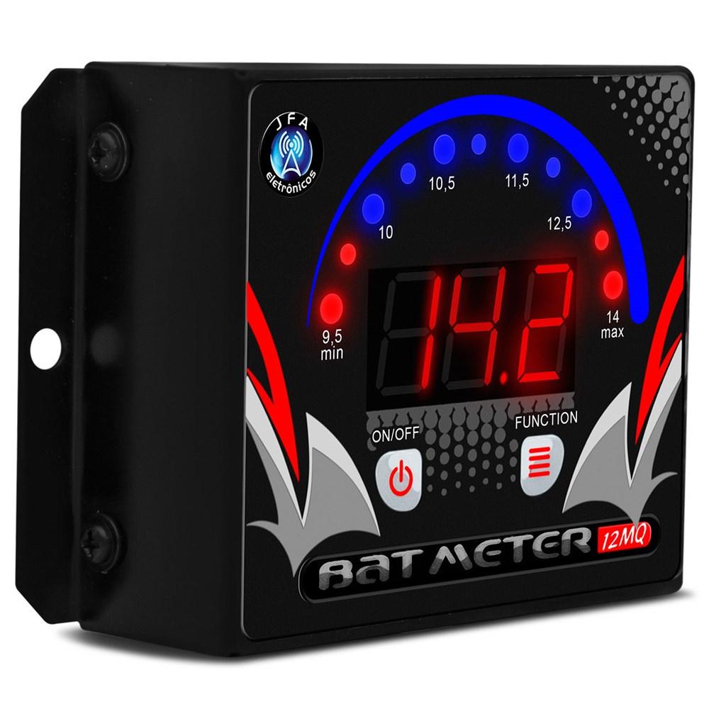 Voltímetro Digital JFA 12MQ LED Vermelho