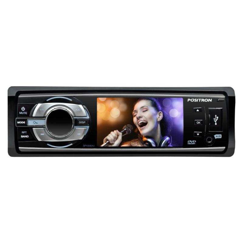 DVD Automotivo Automotivo Positron SP4700DTV com Tela LCD 3