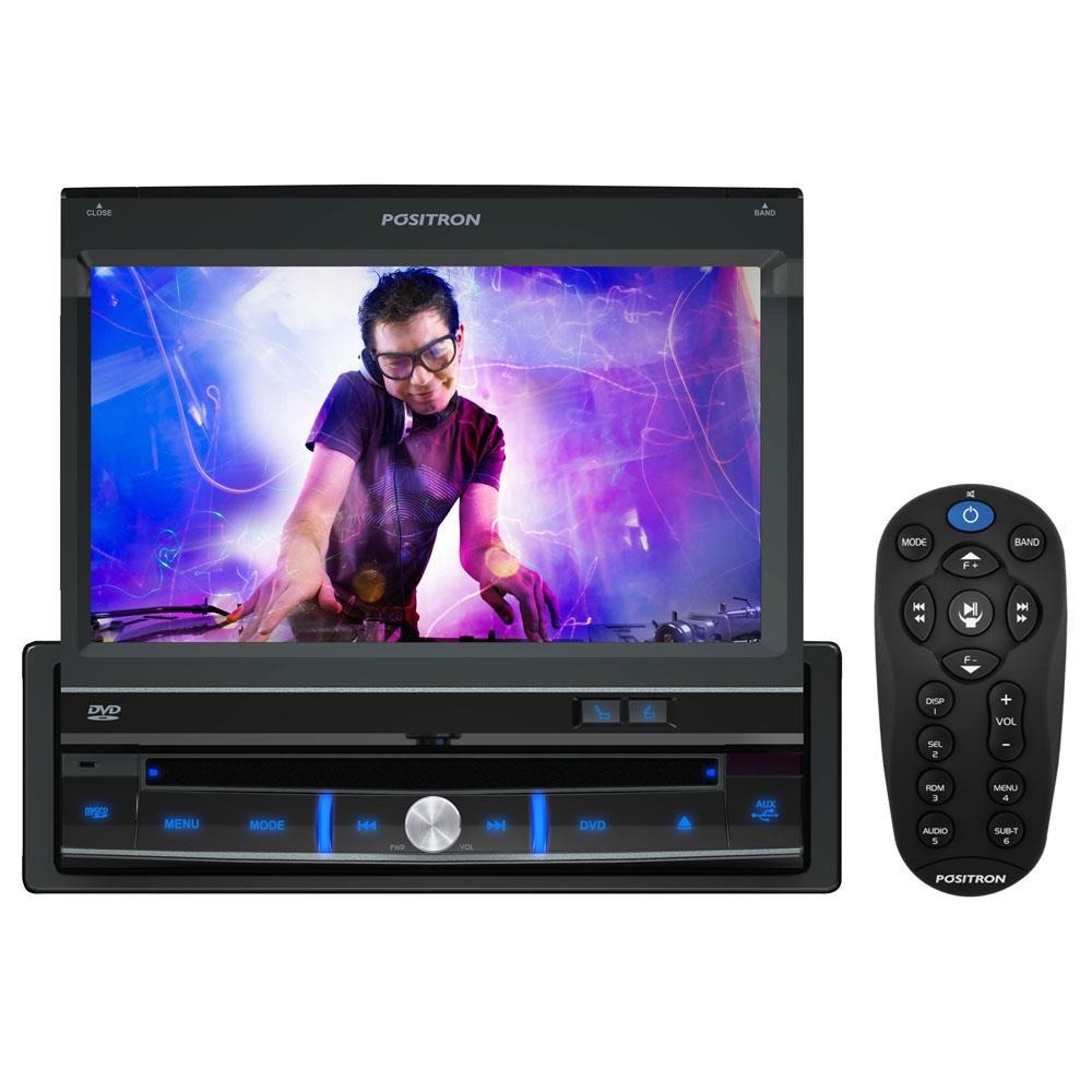 Dvd Player Automotivo Positron SP6300 Tela Retratil 7 Touch Screen USB
