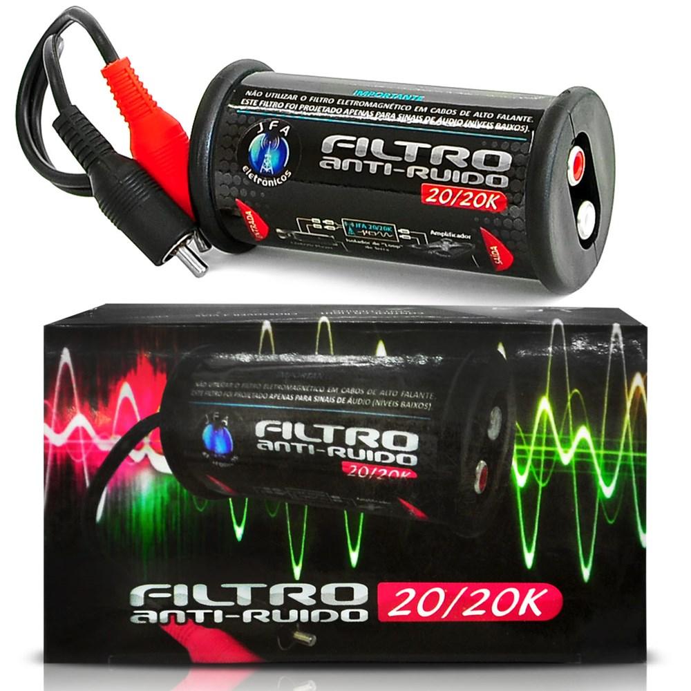 Filtro Jfa Anti Ruído Eletromagnetico Stereo 20/20k