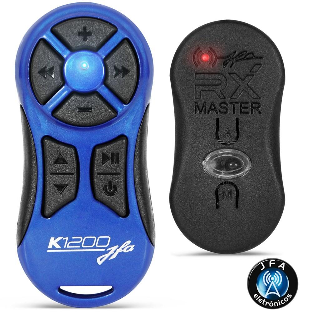 Controle Longa Distância JFA K1200 Alcance de 1200 Metros Azul