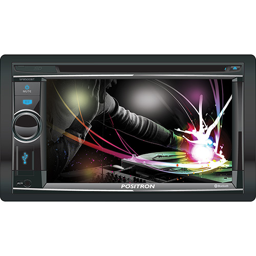 Dvd Player Autmotivo Positron SP8500 2 DinTouch Screen USB Bluetooth