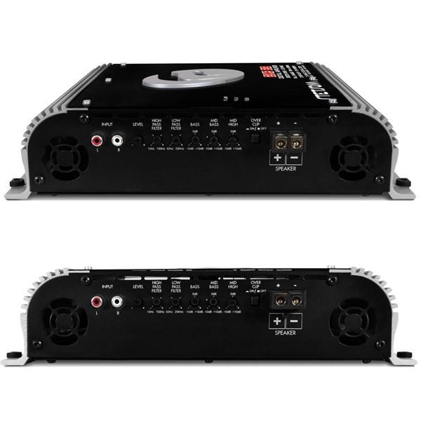 Módulo Amplificador Stetsom 2K5 EQ 2500W RMS 1 Ohm Mono com Crossover