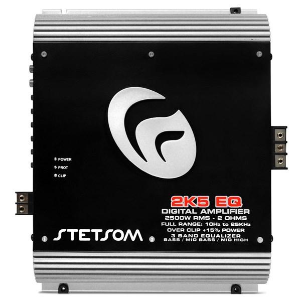 Módulo Amplificador Stetsom 2K5 EQ 2500W RMS 2 Ohms Mono com Crossover