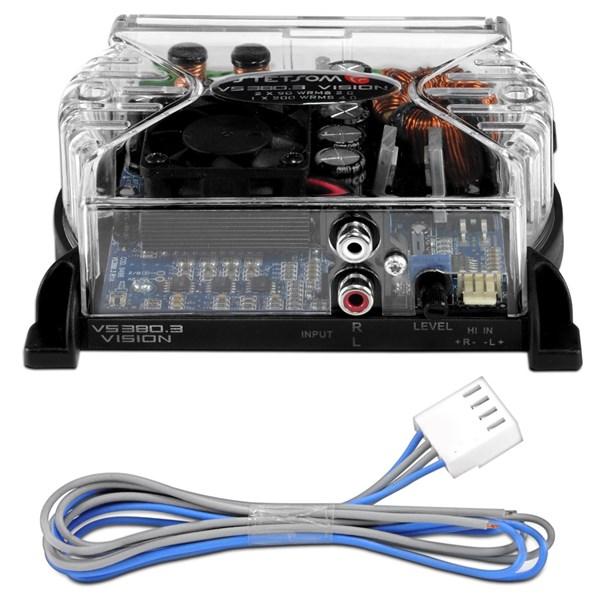 Módulo Amplificador Stetsom Vision Vs380.3 380w Rms 2 Ohms 3 Canais
