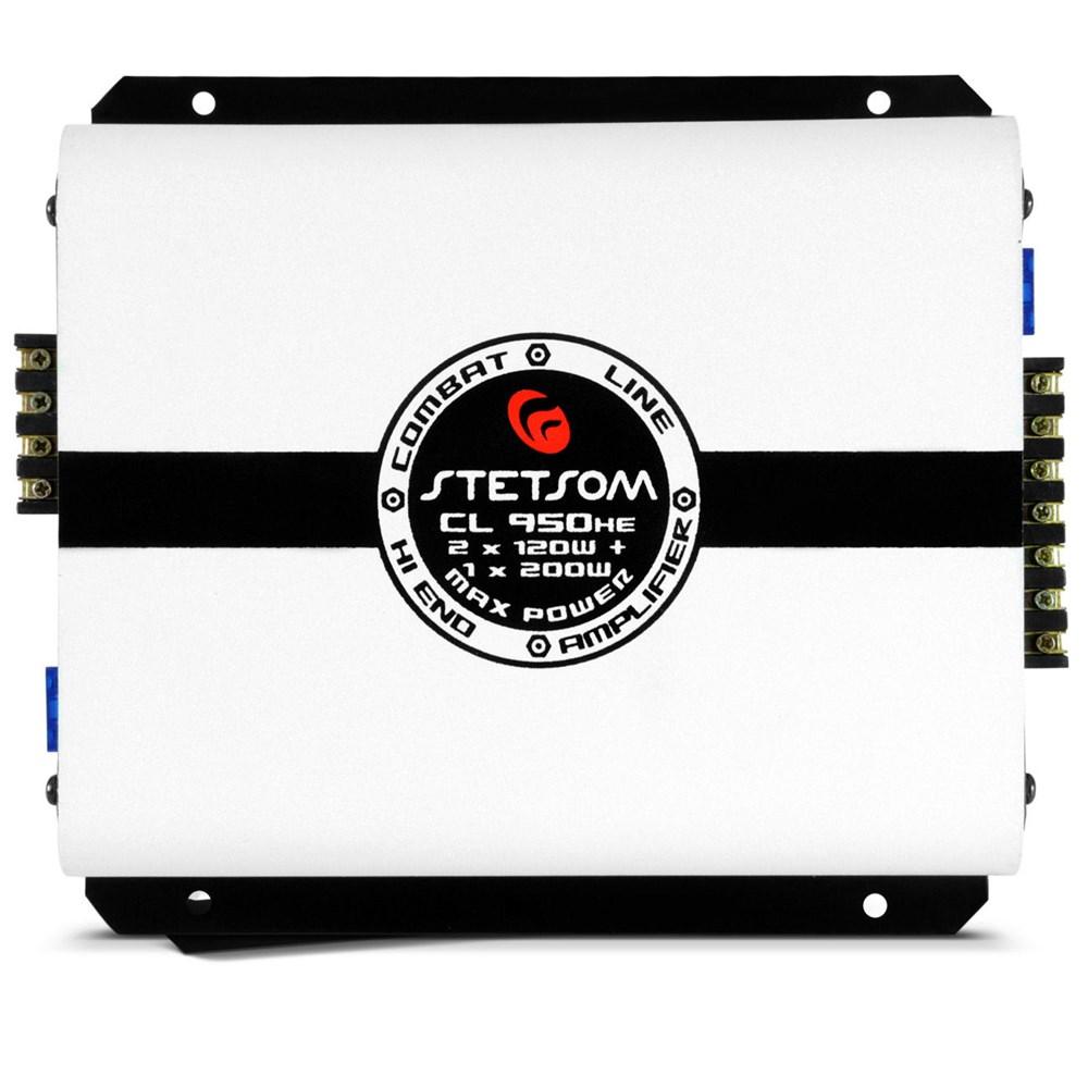 Módulo Amplificador Stetsom Cl950HE 950W PMPO 2 Ohms 3 Canais