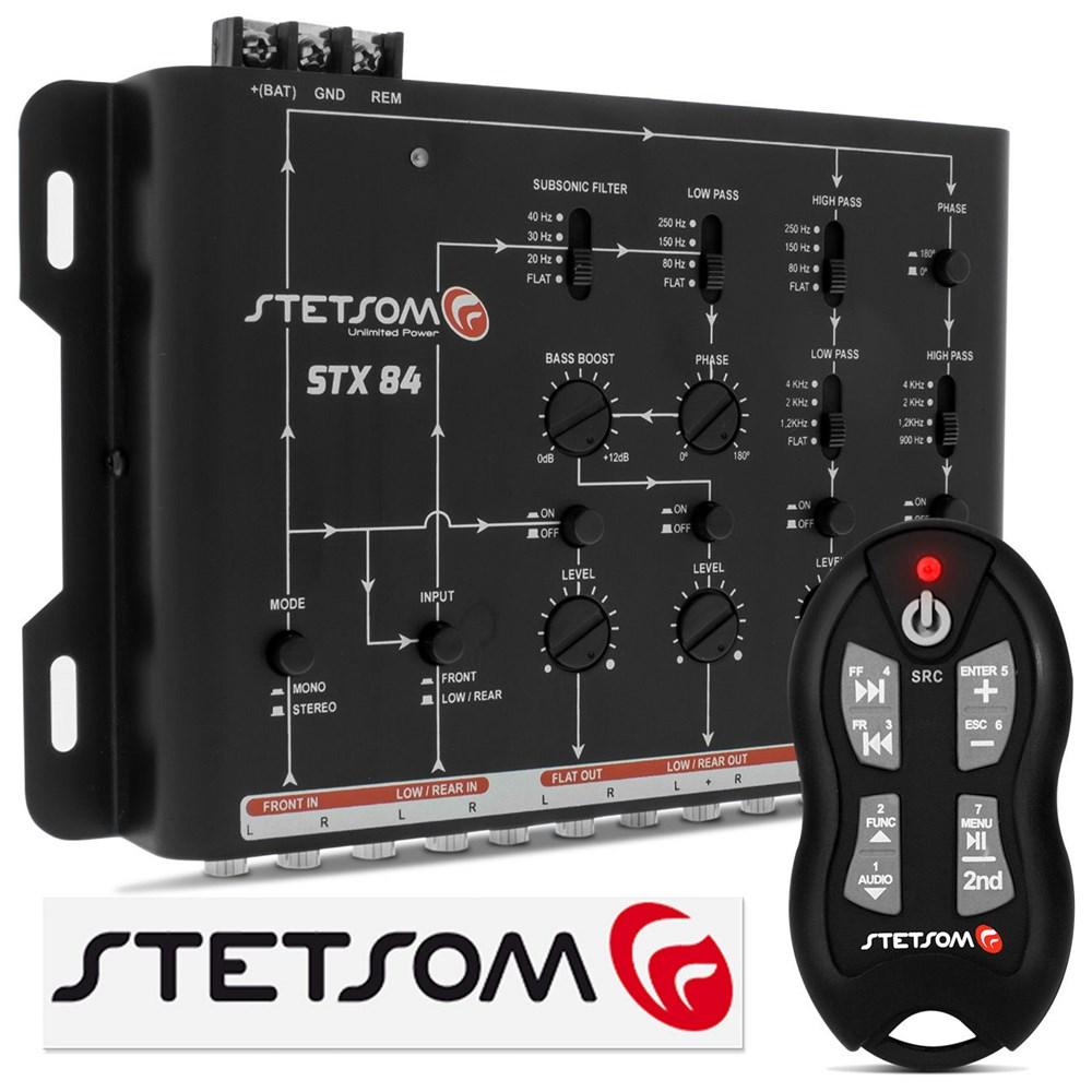 Mesa Crossover Stetsom STX84+Controle Longa Distância SX-2 500m Preto