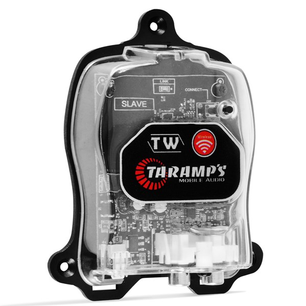 Receptor Taramps Sinal Wireless Tw Slave para Som Automotivo