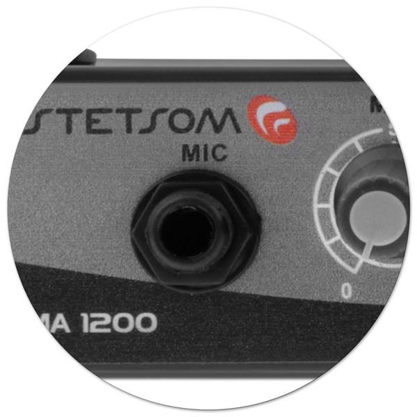 Mixer Automotivo Stetsom MA1200 Entrada Aux e Microfone