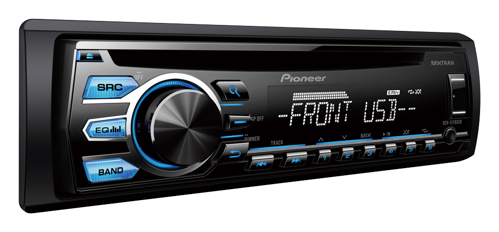 Cd Player Automotivo Pioneer DEH-X1780 Usb Cd Mp3 Mixtrax