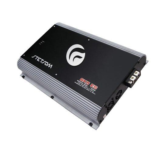 Amplificador Stetsom Vulcan 6k5 Es 6500w Rms + Controle Sx2