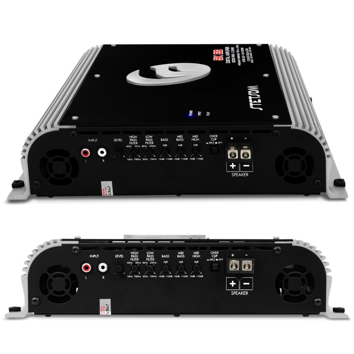 Modulo Stetsom 5k Es 5300w 1 Ch Amplificador + Controle Sx1