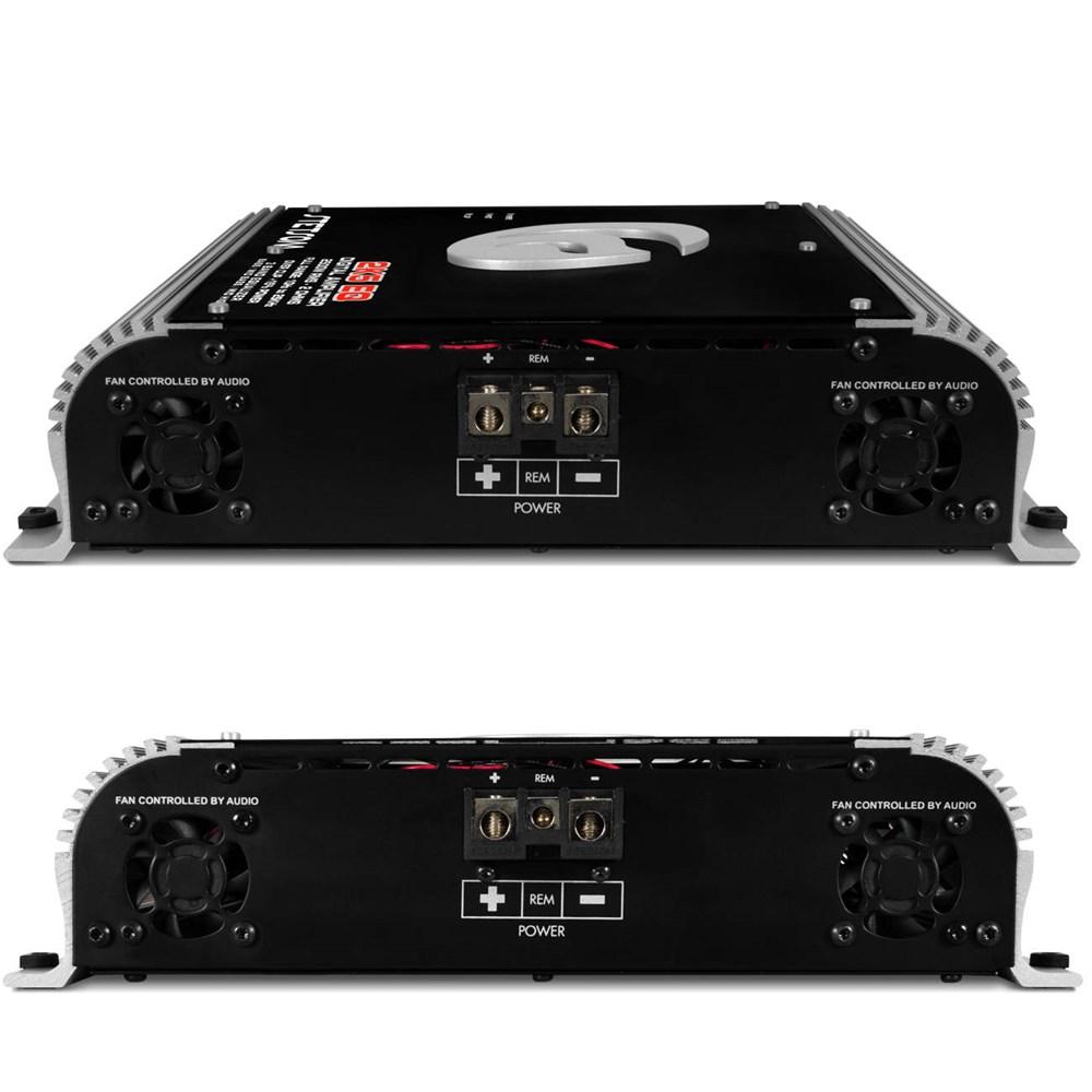 Módulo Amplificador Stetsom 2k5 EQ 2500W + Controle Sx1 Grafite