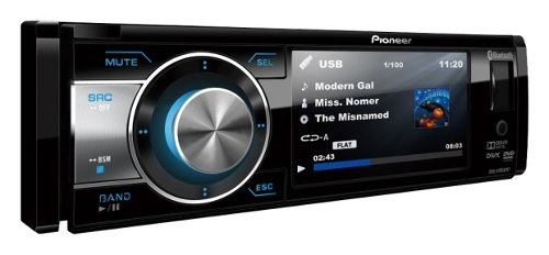 Dvd Player Pioneer Dvh-8780avbt Bluetooth Usb Tela 3,5 Polegadas
