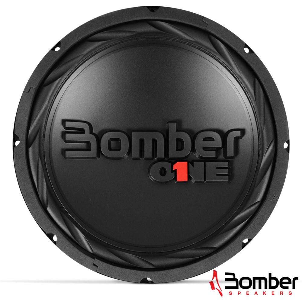 Subwoofer Bomber One SW12BO200 B4 12 Polegadas 200W RMS 4 Ohms
