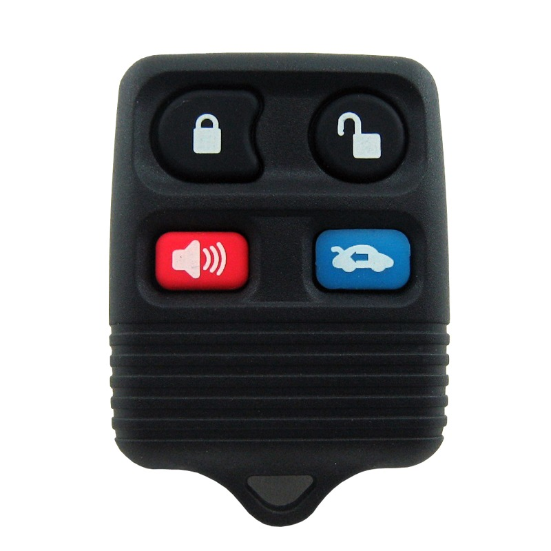 Chave Canivete Controle Alarme Ford Ecosport Ka Fiesta 4 botoes