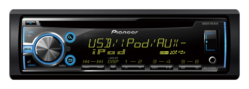Cd Player Automotivo Pioneer DEH-X3780UI Usb Cd Mp3 Mixtrax