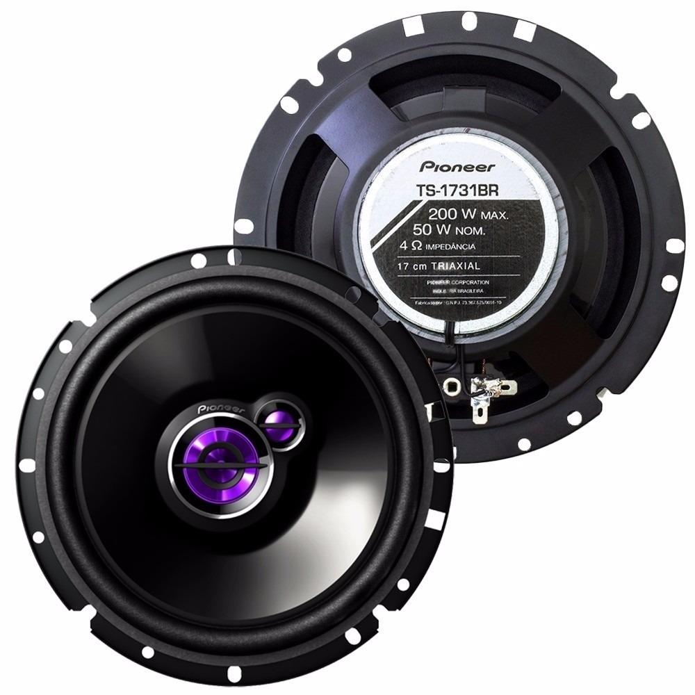Alto Falantes Traixiais Pioneer TS-1731 6 Polegadas 200 Watts