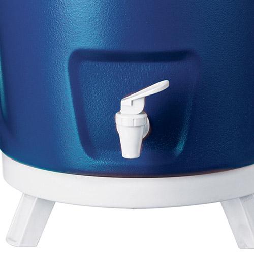 Botijão Térmico com Tripé Retrátil 12 Litros - Invicta Azul