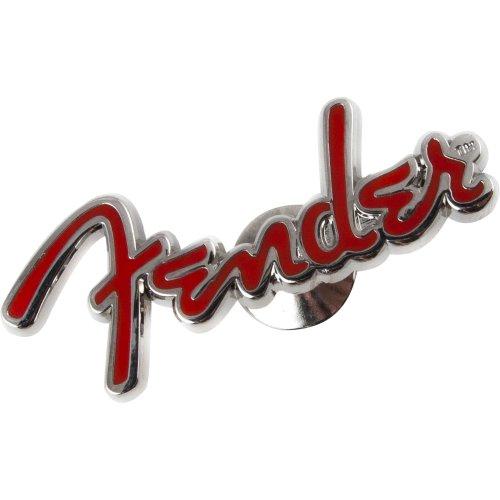 Broche Logo Vermelha Fender