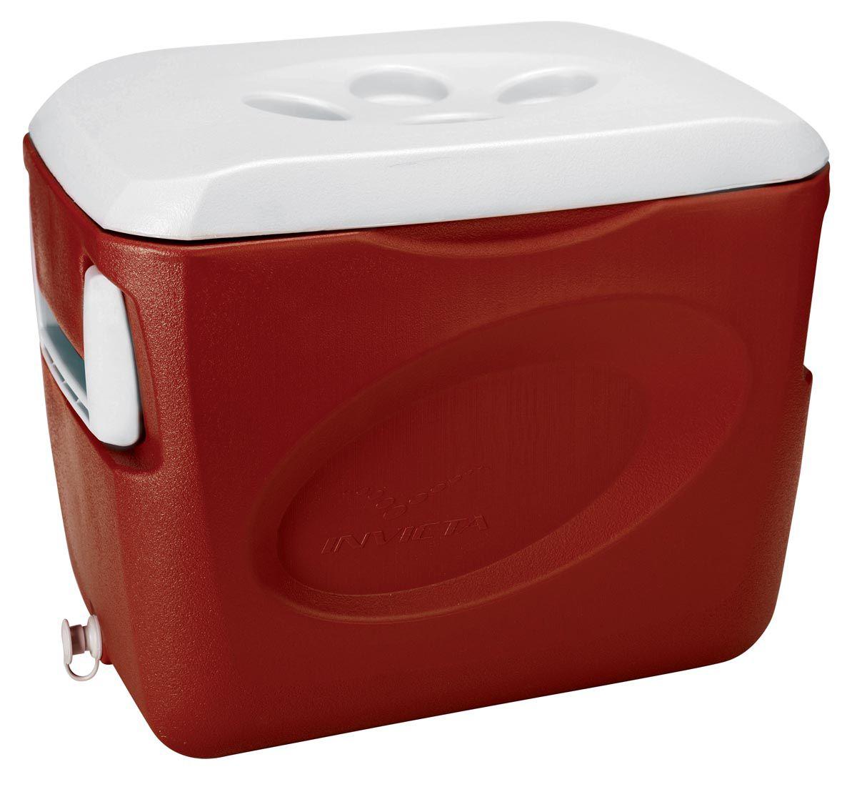 Caixa Térmica Invicta - 45 Litros - Vermelha