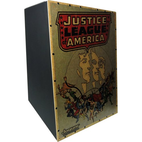 Cajon Eletrico Inclinado Justice League CJ1000 K2 EQ 009 Jaguar