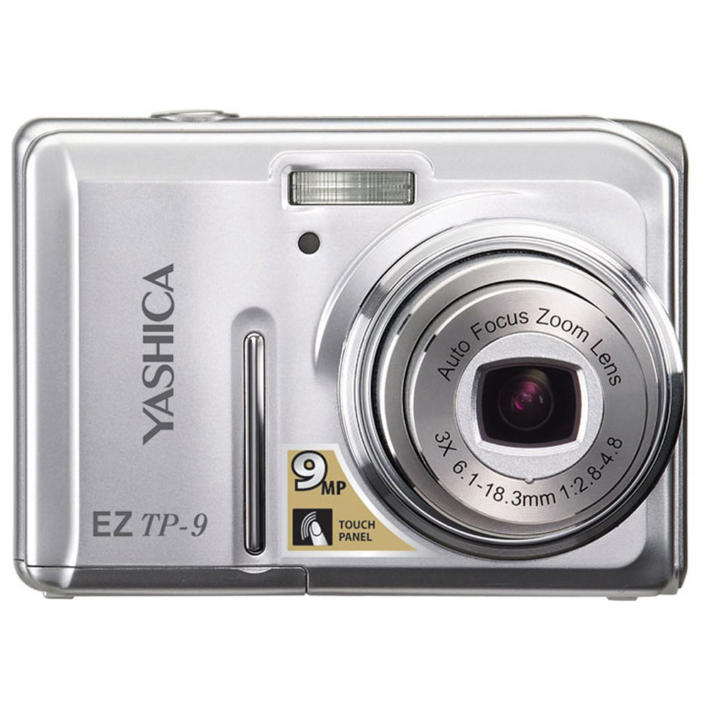 Camera Digital Yashica EZTP9 9.0 MP LCD 2.7´´ TFT Prata