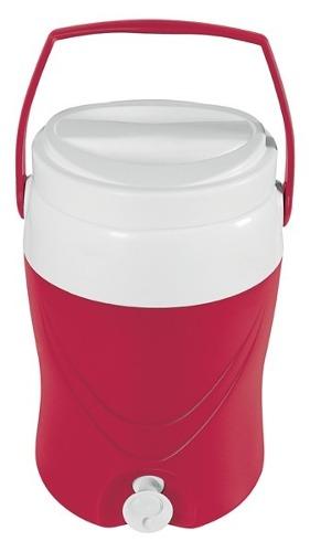 Cantil Super Cooler Termico 8 Litros Vermelho