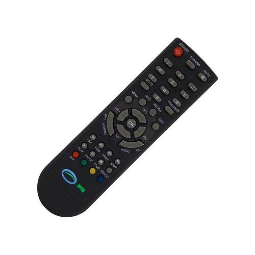 Controle Remoto para Conversor Digital DTV-8000 Preto Aquario