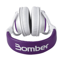 Headphone Bomber HB01 Violet Driver 40MM 24R 106DB