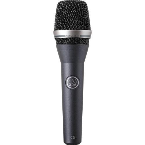 Microfone Profissional Condensador C5 Vocal MIC Preto AKG