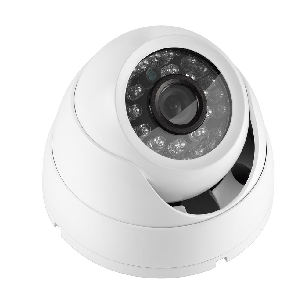 Multilaser Camera Dome SONY CCD 700TVL 3,6MM 20M 24L Metal SE018