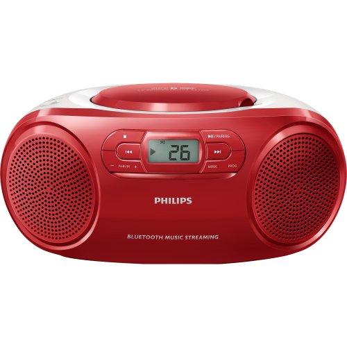 Radio Portatil com CD PLAYER/USB/MP3/FM/BLUETOOTH AZ331TX/78 Vermelho Philips