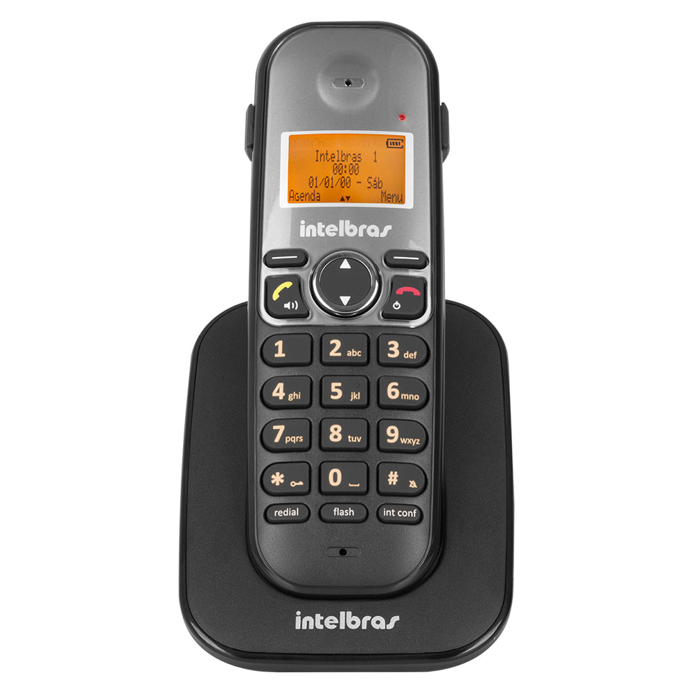 Telefone Ramal sem Fio Digital Intelbras TS5121