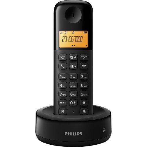 Telefone sem Fio com ID D1301B/BR Preto Philips