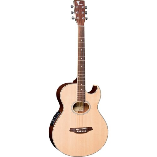 Violao Eletrico Mini Jumbo ACO GL36-STNT Natural Fosco Eagle