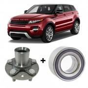 Cubo de Roda Dianteira + Rolamento Land Rover Evoque 2011 2012 2013 2014 2015 - Lado Direito e Esquerdo