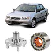 Cubo de Roda + Rolamento de Roda Dianteiro Toyota Corolla 1991 a 2001