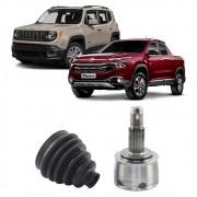Junta Homocinética Fiat Toro 1.8 4X2 16> Jeep Renegade 1.8 4X2 16> Automático DVG MA 27x24