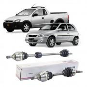 Par de Semi Eixo Chevrolet Corsa Montana 1.8 8V Manual 2002 2003 2004 2005 2006 2007 - Lado Direito e Esquerdo