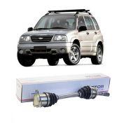 Semi Eixo Chevrolet Tracker 2.0 Diesel Vitara 2.0 Diesel Câmbio Manual 1998 1999 2000 2001 2002 2003 2004 - Lado Esquerdo