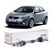 Semi Eixo Completo Kia Cerato 1.6 2.0 16V Automático 2006 2007 2008 2009 2010 2011 2012 2013 - Lado Esquerdo