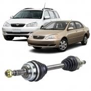Semi Eixo Corolla Fielder 1.8 Automático com ABS 2002 2003 2004 2005 2006 2007 2008 - Lado Esquerdo