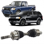 Semi Eixo Ford Ranger 1998 a 2014 Explorer 1991 a 2006 4X4 Roda Livre - Lado Direito