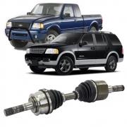 Semi Eixo Ford Ranger 1998 a 2014 Explorer 1991 a 2006 4X4 Roda Livre - Lado Esquerdo