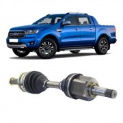 Semi Eixo Ford Ranger 3.2 2.2 4X4 2013 2014 2015 2016 2017 2018 2019 2020 Diesel - Lado Esquerdo