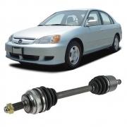 Semi Eixo Honda Civic 1.7 Automático 2001 2002 2003 2004 2005 2006 - Lado Direito