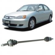 Semi Eixo Honda Civic 1.7 Automático 2001 2002 2003 2004 2005 2006 - Lado Esquerdo