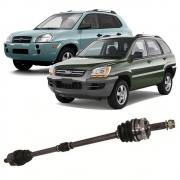 Semi Eixo Hyundai Tucson 2005 a 2007 Kia Sportage 2004 a 2009 - Lado Direito